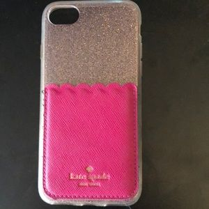 Used but still good cell phone case and pocket